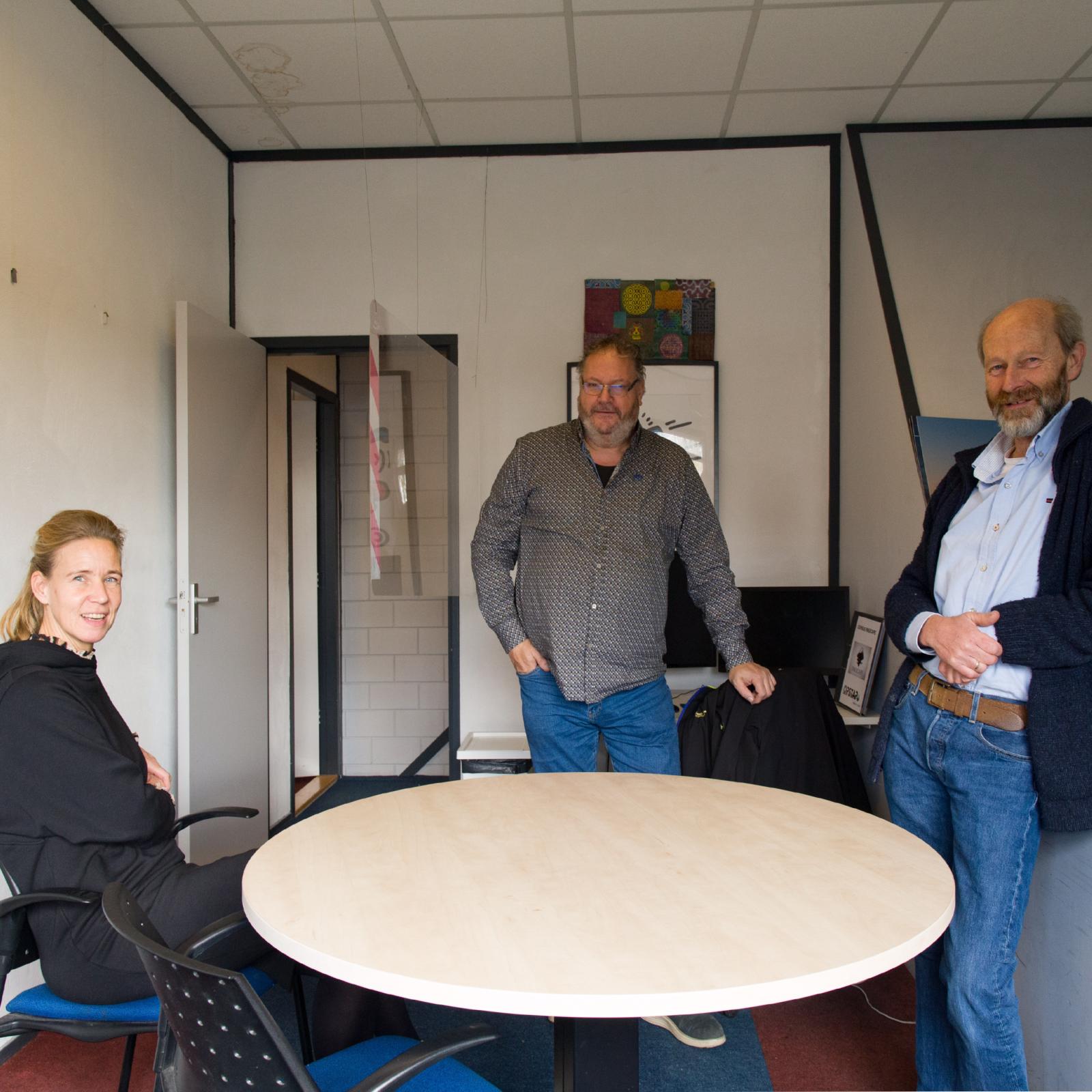 Chantal Derksen, William te Pas en Gerard Groeneweg